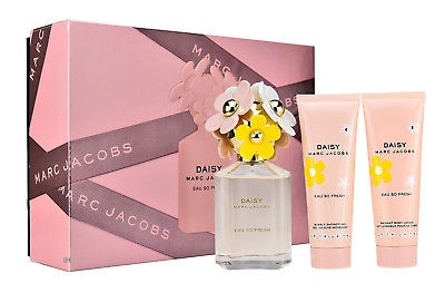 Marc Jacobs DAISY Eau So Fresh - набор 75ml edt+75ml b/l+75ml s/g