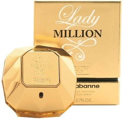 Paco Rabanne  Lady Million Absolutely Gold PURE PARFUM