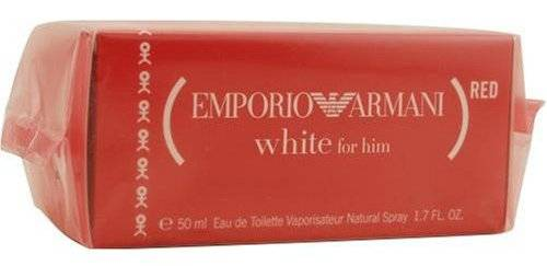 Giorgio Armani Emporio White Red For Men
