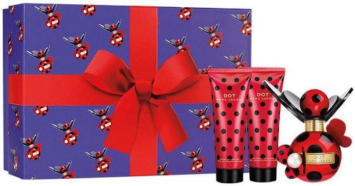 Marc Jacobs Dot - набор 50ml edp+75ml b/l+75ml s/g