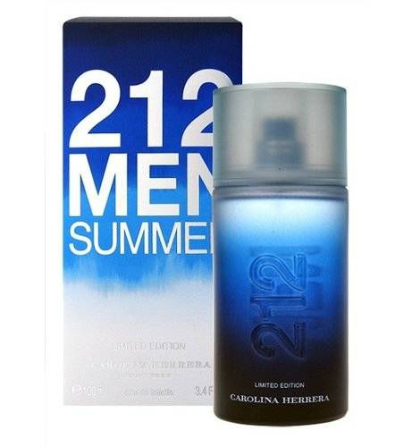 Carolina Herrera 212 Men Summer Limited Edition