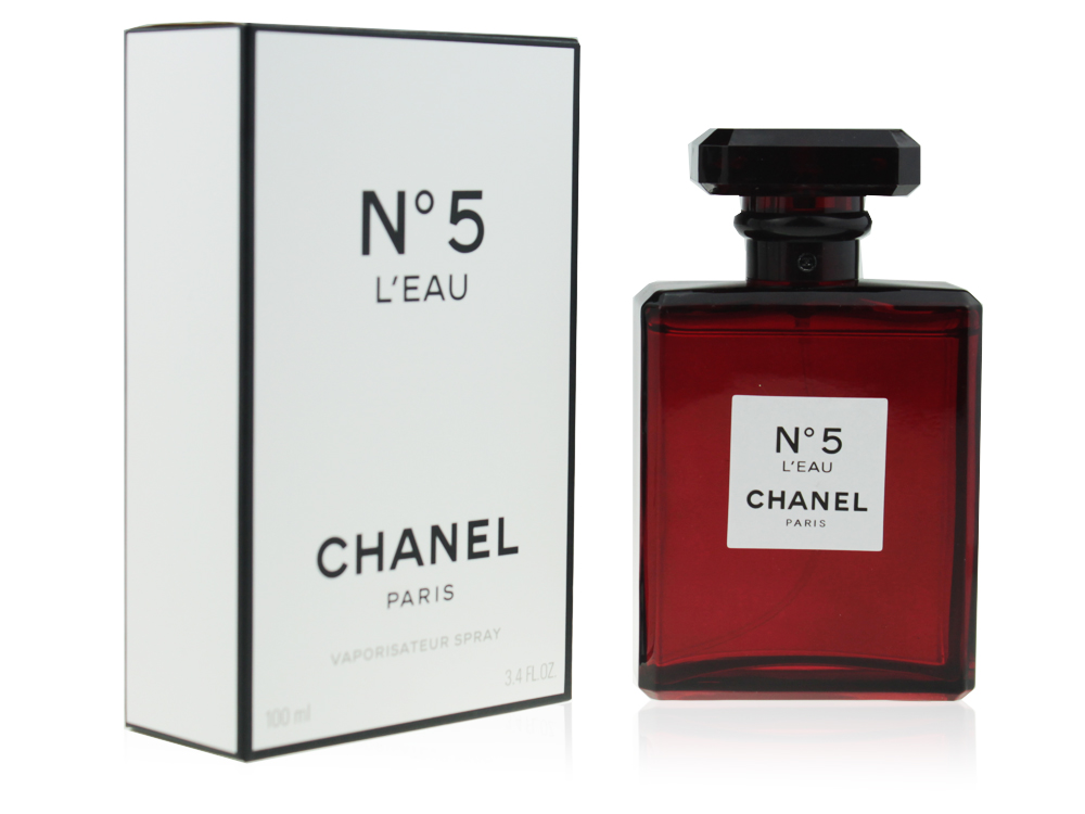 Chanel №5 L'eau Red Edition