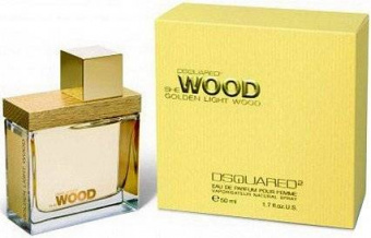 DSQUARED2   She WOOD Golden Light Wood