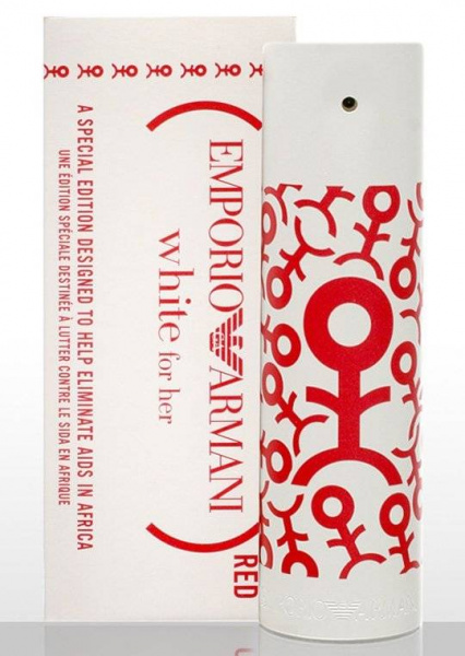 Giorgio Armani Emporio White Red For Women